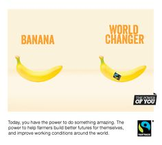 When you buy Fairtrade bananas, avocados or fresh produce, it means producers are paid at least the Fairtrade Minimum Price which they can invest in their communities. Fairtrade Fortnight, America Tumblr, How To Get Away, Change The World, Hard Work, Food For Thought, Fair Trade, Something To Do, Infographic