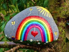 DIY Ideas Of Painted Rocks With Inspirational Picture And Words 63 - Onechitecture diy ideas inspirational onechitecture painted picture rocks words art Pebble Painting, Pebble Art, Stone Painting, Diy Painting, Rock Painting Patterns, Rock Painting Ideas Easy, Rock Painting Designs, Stone Crafts, Rock Crafts