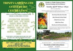 Trinity Gardens Celebrates Five Years on March 11 Five tons of organic, nutrient-dense food donated in five years!