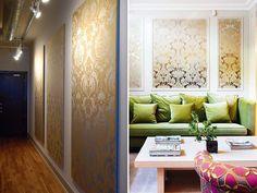 Ideias criativas com papel de parede - Constance Zahn | Casa & Decor