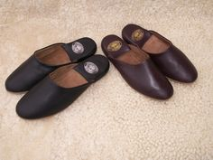 Men's Leather Mule Slipper - Radford Leather Fashions - Quality Leather and Sheepskin Jackets for Men and Women. West Midlands, UK