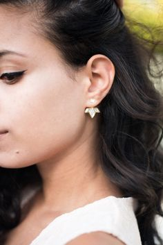 Chrissie Earrings by Shlomit Ofir as featured on Why Delilah blog