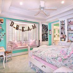 Bedroom on Pinterest Girls Bedroom Teenage Bedrooms and