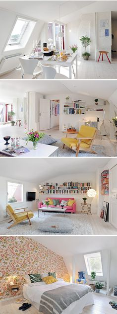 is this a big loft apartment? I love the white....