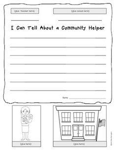 kindergarten writing helpers