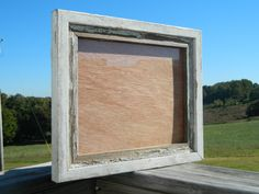 "8""x10"" Rustic barnwood Picture Frame, Repurposed on Etsy, $25.00"