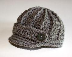 Ragazzo neonato a maglia cappelli berretto di GoldenGirlzHandmade, $22.50