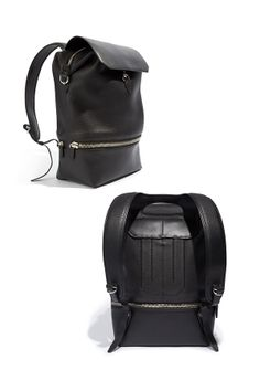Sleek backpacks are the new go-to for men, love this design by Alexander Wang.