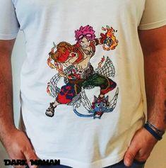 T-shirt Natsu et Happy (Fairy Tail) | point de croix