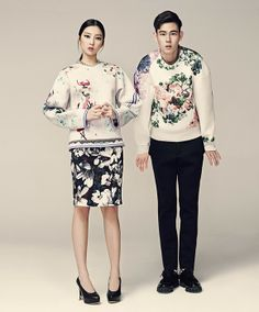 VOGUE girl OCTORBER 2013. BLINDNESS BLOOM SWEATSHIRT model MINJUN KIM