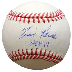 Sports Integrity 20331 Tim Raines Montreal Expos Signed Rawlings Official  MLB Baseball 73ead715e