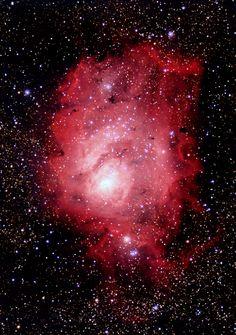 M8 The Lagoon Nebula Kevin R. Witman on August 4, 2016 @ Cochranville, Pennsylvania