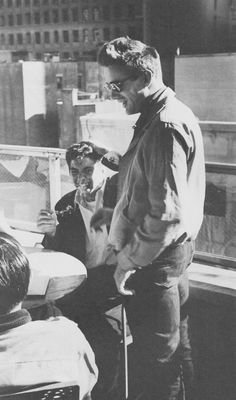 James Dean, out with Jack Simmons & Leonard Rosenman