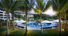 Ocean Wing Swimming Pool  Shangri-La's Rasa Ria Resort, Kota Kinabalu