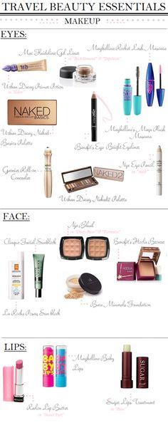 My Travel Beauty Essentials: Makeup