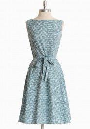 """Blue summer dress.- staat eveneens op de """"to-do"""" lijst !"""