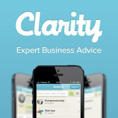 Clarity – find, schedule and pay for expert advice to grow your business