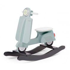 Childwood Schaukel Roller Scooter - blaugrau