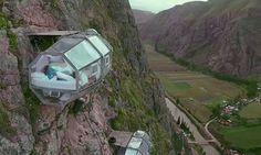 Perto de Machu Picchu, um hotel para quem não tem medo de altura - Jornal O Globo
