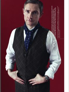 Are they making Martin Freeman into a leading man type?