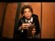 ANIMATED GIF Mika is the doctor w/ the NRJ award