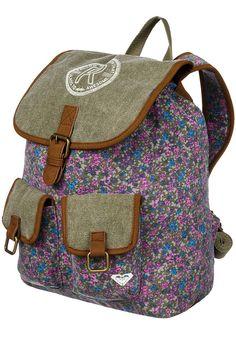 12f33b64d1ef9 Roxy Ballad - Rucksack für Damen - Grün.  planetsports ROXY Womens Ballad  Backpack ...