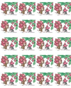 """1 Sheet of 20 Square Stickers"", Stock #: SS-181, from House-Mouse Designs®. This item was recently purchased off from our web site, www.house-mouse.com. Click on the image to see more information."