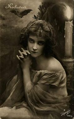 Angel After Dark. Top Gothic Fashion Tips To Keep You In Style. Consistently using good gothic fashion sense can help Vintage Pictures, Old Pictures, Vintage Images, Old Photos, Nocturne, Gothic Fashion, Vintage Fashion, Old Photography, Wow Art