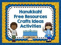 LMN Tree: Hanukkah: Free Resources, Craft Ideas, Lessons, and Activities