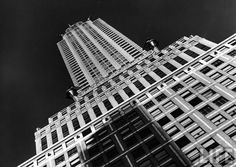 Margaret Bourke-White: View of the Chrysler Building which housed TIME offices from 1932-1938. 1937