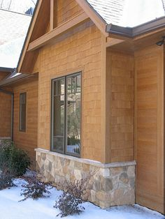 Cedar Shake Homes We Used Hardiplank Stained With