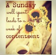 Sunday!!