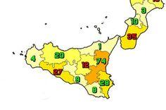 Il 15 ottobre in Sicilia il totale delle persone che hanno contratto il virus è di 302.919 (+183) (27 Agrigento, 9 Caltanissetta, 74 Catania, 12 Enna, 1 Messina, 20 Palermo, 8 Ragusa, 28 Siracusa, 4 Trapani). I tamponi effettuati 15.066, tasso di positività 1.2%. Il totale dei deceduti è 6.933 (+12). Il numero complessivo dei guariti è 288.016 (+971). Il numero totale di attualmente positivi è di 7.970 #contagi #Coronavirus #decessi #nuovi #Sicilia