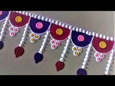 Super Quick and Easy Border Rangoli Designs Rangoli Designs Peacock, Easy Rangoli Designs Diwali, Simple Rangoli Designs Images, Small Rangoli Design, Rangoli Ideas, Mehndi Design Images, Rangoli Designs With Dots, Beautiful Rangoli Designs, Rangoli Borders
