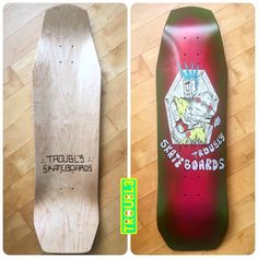 Custom Skateboard Deck - TROUBL3 SKATEBOARDS | TROUBL3 Skateboards Custom Skateboard Decks, Custom Skateboards, Know What You Want, Good Things, Messages, Text Posts, Text Conversations