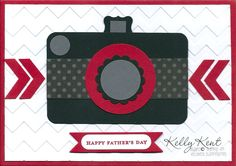 Chevron Camera by Kelly Kent.