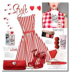 """""""Love Potion(Inspired by @polyvore-editorial)"""" by queenvirgo ❤ liked on Polyvore featuring ban.do, Love Moschino, Yves Saint Laurent and Kate Spade"""