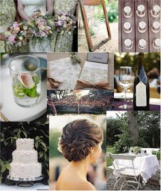 Winery wedding: love the hair in this one