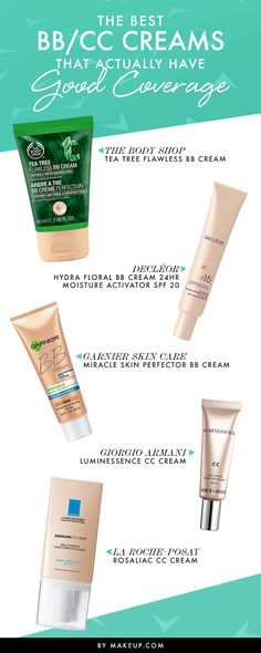 The Best BB and CC Creams That Actually Deliver Good Coverage @Makeup.com