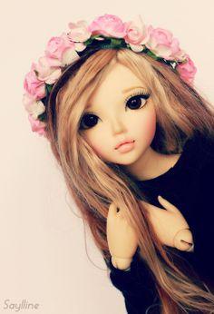 dollshousedropin:  [ Fairyland Minifee Chloe ] Jade (by Saylline ♥)