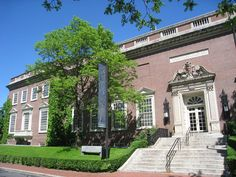 The Fogg Museum, opened to the public in 1896, is the oldest of Harvard University's art museums.