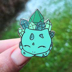 sosuperawesome: Crystal Pokemon Pins Noly Sheet on Etsy See Pokemon Bulbasaur, Bag Pins, Jacket Pins, Pokemon Pins, Cool Pins, Pin And Patches, Pin Badges, Lapel Pins, Pin Collection