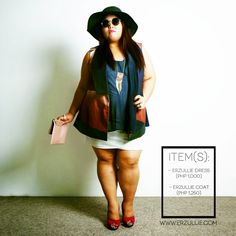"Erzullie Fierce Plus Size Fashion Philippines: PLUS SIZE FASHION: #OOTD ""SUNNY DISPOSITION"""