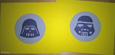 DIY Star Wars stamps. / Itsetehdyt leimasimet. Shrink Plastic, Paper Art, Stamps, Star Wars, Crafts, Diy, Painting, Seals, Papercraft