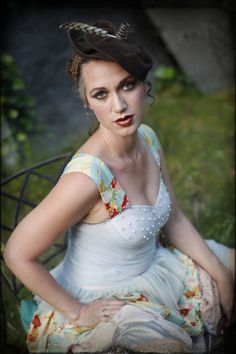 An O'Lover original. (Credits: Becca Henry Photography, Lauren Warner MUA and model Lily Rose)