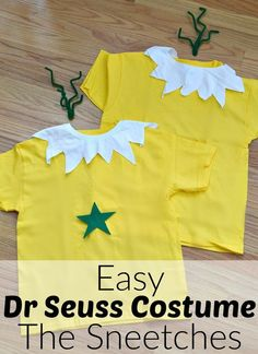 Super cute Sneetches costume from Dr. Seuss book --- Sneetches book activity