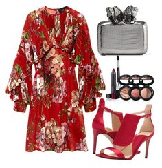 """""""Untitled #144"""" by fiqars on Polyvore featuring Gucci, Nancy Gonzalez, Nine West and Laura Geller"""