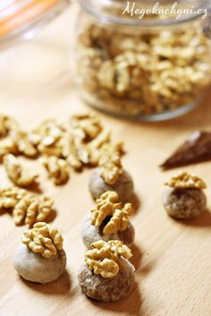 Rumové perníčky s marcipánem - Meg v kuchyni Christmas Sweets, Christmas Cookies, Xmas, Cereal, Baking, Breakfast, Cake, Food, Xmas Cookies