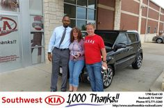 https://flic.kr/p/NnCepW | #HappyAnniversary to Michelle and your 2012 #Kia #Soul from Everyone at Southwest KIA Rockwall! | www.deliverymaxx.com/DealerReviews.aspx?DealerCode=TYEE