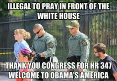Holy $hit! That is so wrong! Yet Muslims can do it with impunity... Our Muslim-in-Chief is showing his true self...